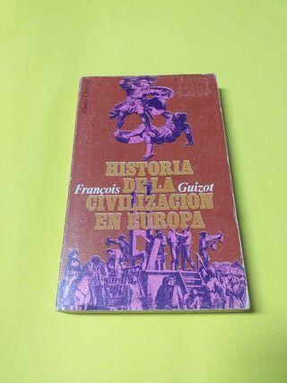Libro. Historia De La Civilización Europea.