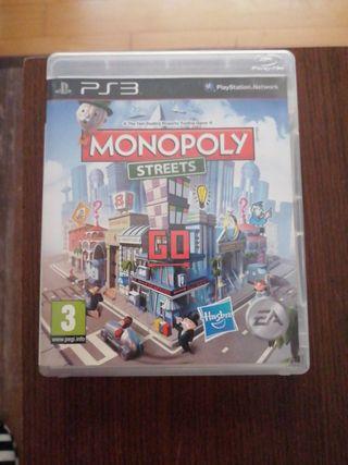 ps3 juego del monopoly streets