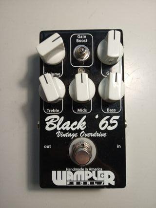 Pedal overdrive Wampler Black 65