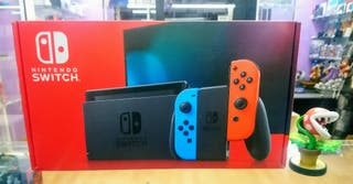 NINTENDO SWITCH AZUL ROJO
