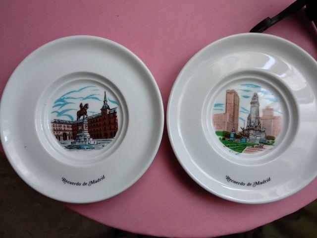 Platos decorativos souvenirs