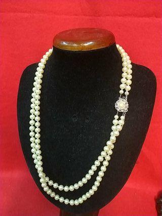 collar perlas majoricas