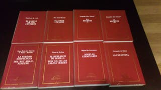 Colección literatura española. Grandes clásicos.