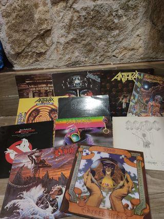 Vinilos Heavy Metal y más. Listado en imágenes.