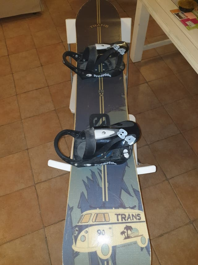 Tabla snowboard Trans,freeride,todo terreno