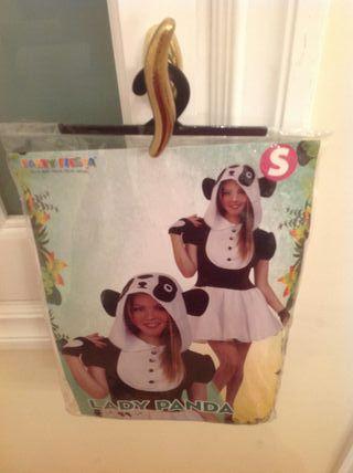 Disfraz Lady Panda Talla S / Party Fiesta