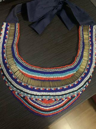Collar Abalorios Zara