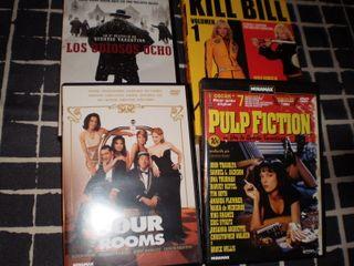 Pack Tarantino (cinco películas en DVD)