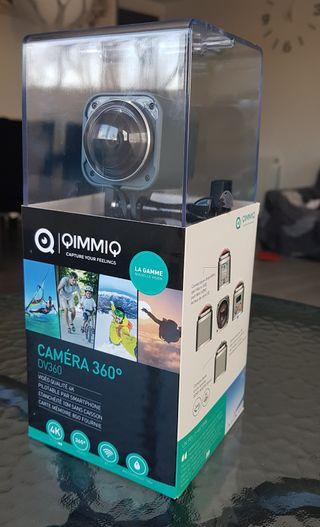 CAMARA 360 4K QIMMIQ DV360 4K - Seminuevo