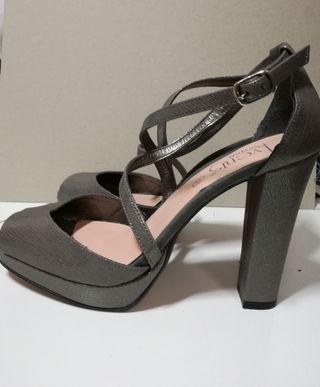 zapatos tacón para bodas, bautizos, fiesta