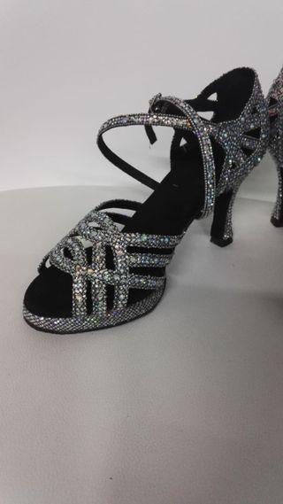 zapatos de baile plataforma sin estrenar