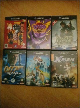 Videojuegos de Gamecube