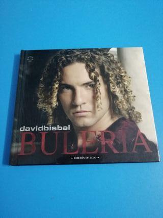 "CD David Bisbal ""Buleria"" Edicion de lujo"