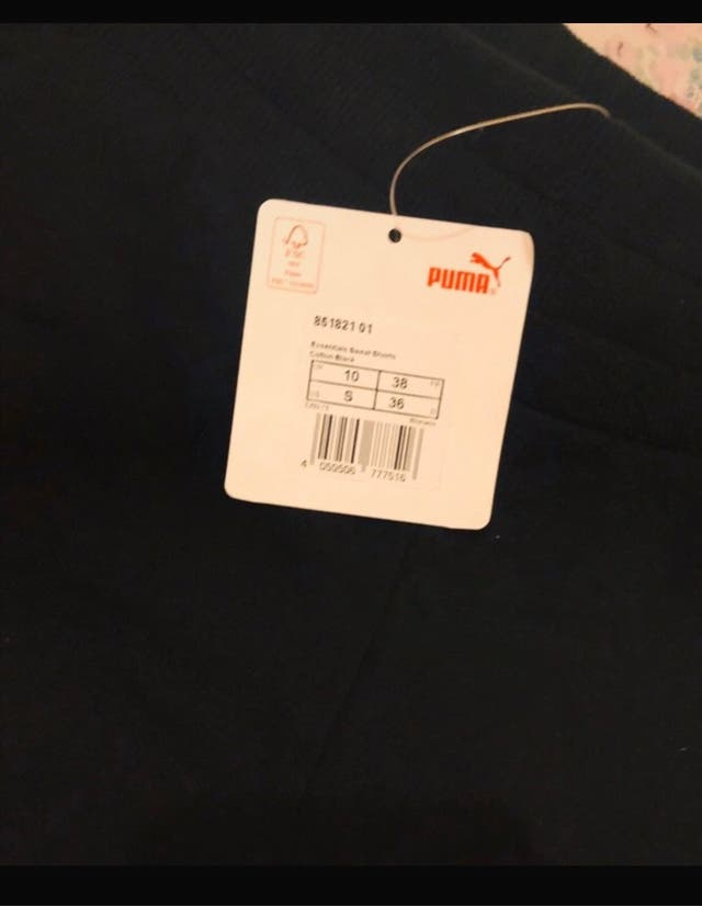 Puma shorts for women