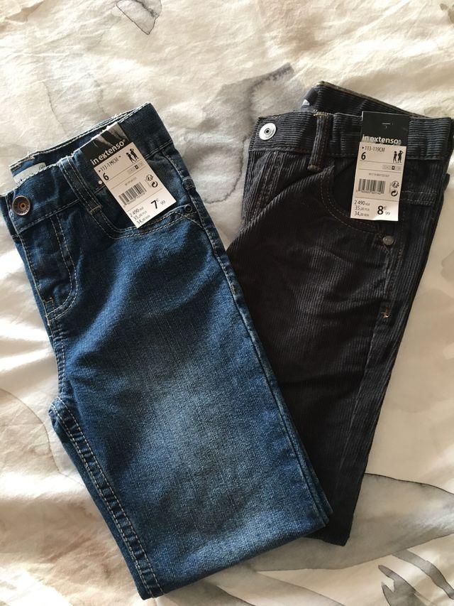 Lote Pantalones Ninos Nuevos Talla 6 Anos De Segunda Mano Por 15 En Sant Vicent Del Raspeig En Wallapop
