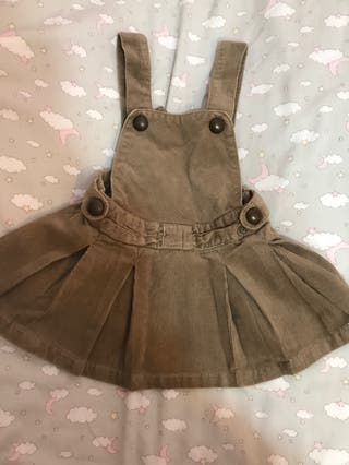 Vestido pana bebé