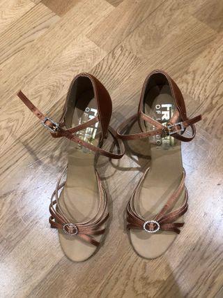 Zapatos de baile salsa/latino