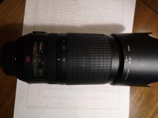 nikon AF-S 70 300 VR apenas usado.