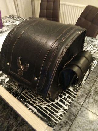baúl de moto custom