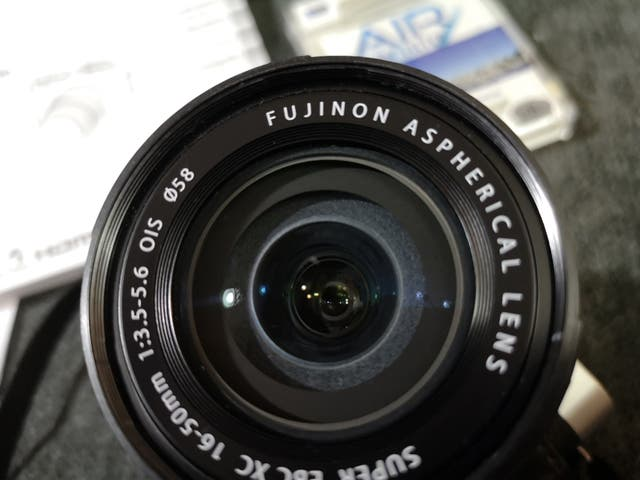 camara fujifilm xm1 - objetivo 16 50