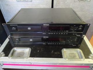 x2 Reproductores cd mp3 profesional Denon dn-c615