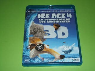 ICE AGE 4 (BLURAY 3D + 2D + DVD)