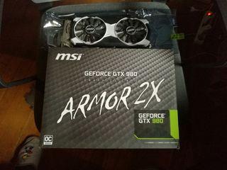 GTX 980 MSI ARMOR 2X 4GB
