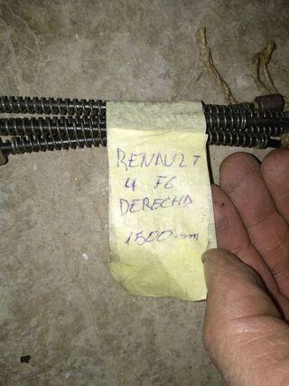 Renault 4 F6 - Cable de freno Derecho 1500mm