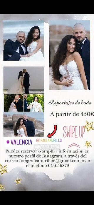 REPORTAJE FOTOGRÁFICO DE BODA COMPLETO