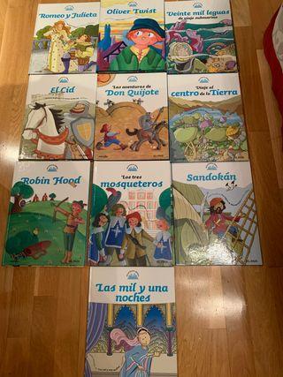 Cuentos clásicos 10 libros