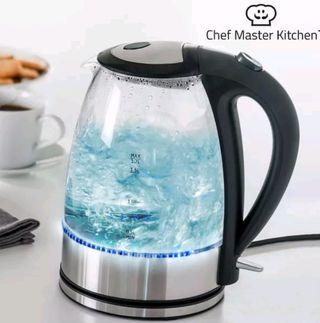 Hervidor de agua eléctrico con LED