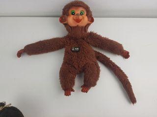 peluche mono vir pelusin años 70 muñeco
