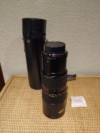 Objetivo Osawa 85-300mm NUEVO A ESTRENAR