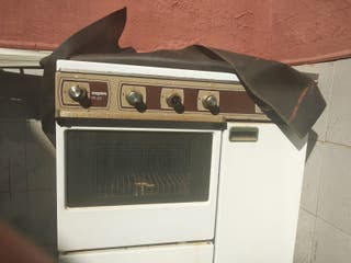 hornilla de gas y horno