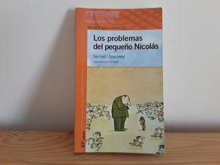 Libro infantil Los problemas del pequeño Nicolás