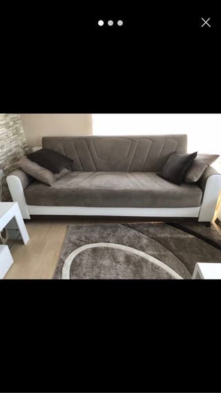 2x large sofas