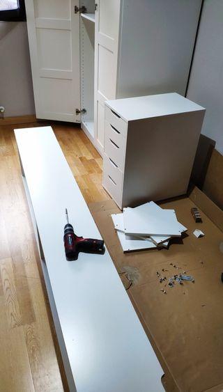 Montaje desmontaje Ikea salón habitación baño pax