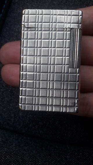 Encendedor S. T. DUPONT Paris, plata de ley