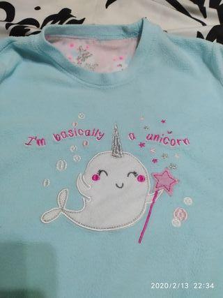Pijama unicornio M/L