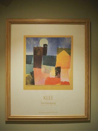 Cuadro lámina enmarcada Klee