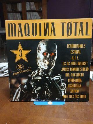 DISCO VINILO MÁQUINA TOTAL 3 92
