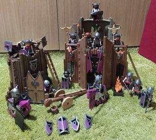 Playmobil fortaleza bárbaros 4435 con accesorios