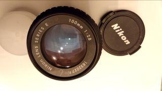Objetivo Nikon 100 mm 1:2.8
