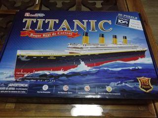 Puzzle 3d Titanic 113 piezas