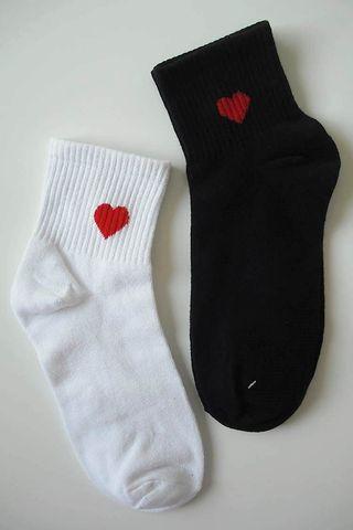 Calcetines de corazón
