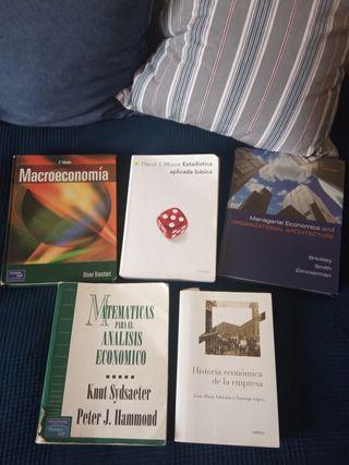 libros universidad ADE/Economía/Management