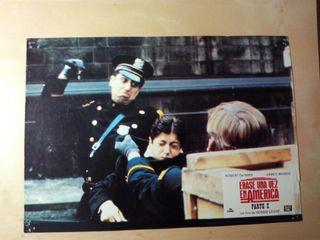 "Afiche de ""Erase una vez America"" de Sergio Leone"