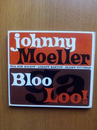 Cd de blues de Johnny Moeller