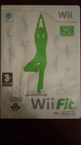 Vendo juego Wii fit.
