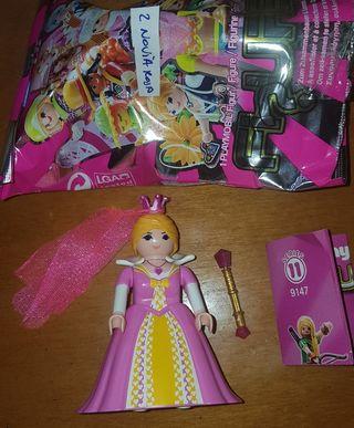 figura playmobil serie 11 chica novia dama boda